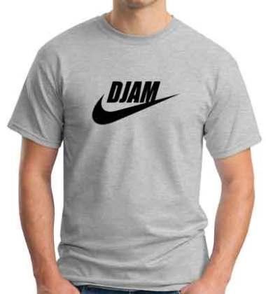 DJ AM Nike Logo T-Shirt Crew Neck Short Sleeve Men Women Tee DJ Merchandise Ardamus.com