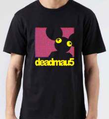 Deadmau5 Dot Matrix T-Shirt Crew Neck Short Sleeve Men Women Tee DJ Merchandise Ardamus.com