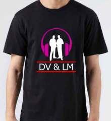 Dimitri Vegas & Like Mike Logo T-Shirt Crew Neck Short Sleeve Men Women Tee DJ Merchandise Ardamus.com