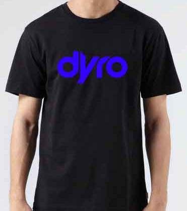 Dyro T-Shirt Crew Neck Short Sleeve Men Women Tee DJ Merchandise Ardamus.com