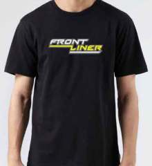 Frontliner T-Shirt Crew Neck Short Sleeve Men Women Tee DJ Merchandise Ardamus.com