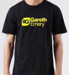 Gareth Emery T-Shirt Crew Neck Short Sleeve Men Women Tee DJ Merchandise Ardamus.com