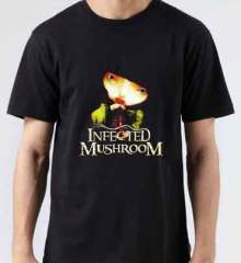 Infected Mushroom Vicious Delicious T-Shirt Crew Neck Short Sleeve Men Women Tee DJ Merchandise Ardamus.com