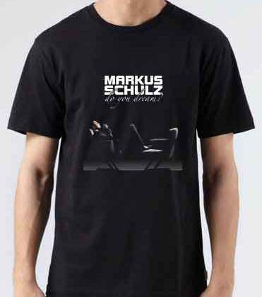 Markus Schulz Do You Dream T-Shirt Crew Neck Short Sleeve Men Women Tee DJ Merchandise Ardamus.com