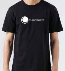 Moonbeam T-Shirt Crew Neck Short Sleeve Men Women Tee DJ Merchandise Ardamus.com
