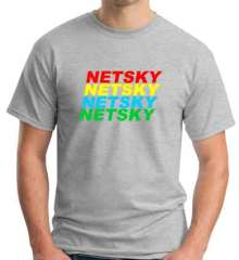 Netsky T-Shirt Crew Neck Short Sleeve Men Women Tee DJ Merchandise Ardamus.com