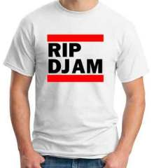 RIP DJ AM T-Shirt Crew Neck Short Sleeve Men Women Tee DJ Merchandise Ardamus.com