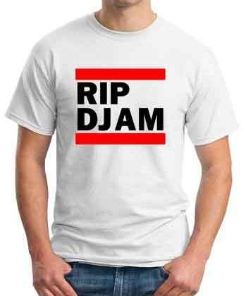 RIP DJ AM T-Shirt Crew Neck Short Sleeve Men Women Tee DJ Merchandise Ardamus.com