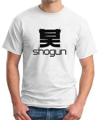 Shogun T-Shirt Crew Neck Short Sleeve Men Women Tee DJ Merchandise Ardamus.com
