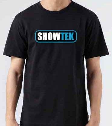 Showtek T-Shirt Crew Neck Short Sleeve Men Women Tee DJ Merchandise Ardamus.com