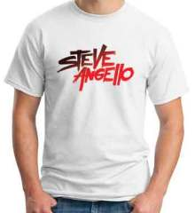 Steve Angello Logo T-Shirt Crew Neck Short Sleeve Men Women Tee DJ Merchandise Ardamus.com