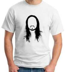 Steve Aoki Face T-Shirt Crew Neck Short Sleeve Men Women Tee DJ Merchandise Ardamus.com