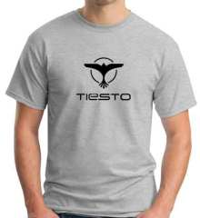Tiesto Logo T-Shirt Crew Neck Short Sleeve Men Women Tee DJ Merchandise Ardamus.com