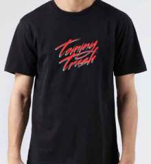 Tommy Trash Logo T-Shirt Crew Neck Short Sleeve Men Women Tee DJ Merchandise Ardamus.com