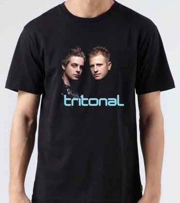 Tritonal Duo T-Shirt Crew Neck Short Sleeve Men Women Tee DJ Merchandise Ardamus.com