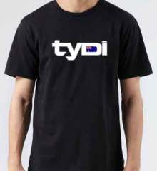 Tydi Australian T-Shirt Crew Neck Short Sleeve Men Women Tee DJ Merchandise Ardamus.com