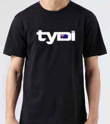 Tydi Australian T-Shirt Crew Neck Short Sleeve Men Women Tee DJ Merchandise Ardamus.com