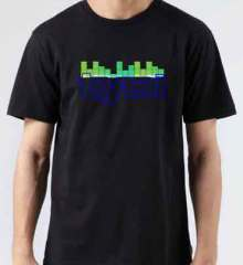 Tydi Soundbar T-Shirt Crew Neck Short Sleeve Men Women Tee DJ Merchandise Ardamus.com