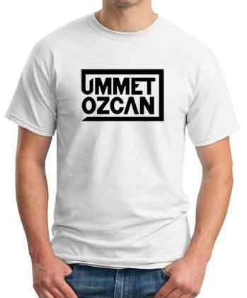Ummet Ozcan Logo T-Shirt Crew Neck Short Sleeve Men Women Tee DJ Merchandise Ardamus.com