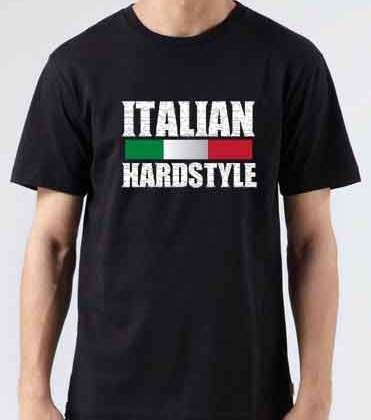 Zatox Italian Hardstyle T-Shirt Crew Neck Short Sleeve Men Women Tee DJ Merchandise Ardamus.com