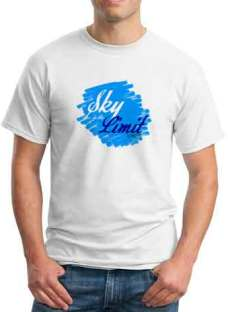 Antoine Sky Is The Limit T-Shirt Crew Neck Short Sleeve Men Women Tee DJ Merchandise Ardamus.com