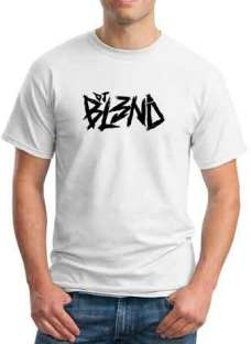 BL3ND Logo T-Shirt Crew Neck Short Sleeve Men Women Tee DJ Merchandise Ardamus.com