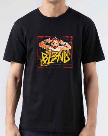 BL3ND T-Shirt Crew Neck Short Sleeve Men Women Tee DJ Merchandise Ardamus.com