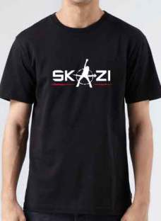 Skazi T-Shirt Crew Neck Short Sleeve Men Women Tee DJ Merchandise Ardamus.com