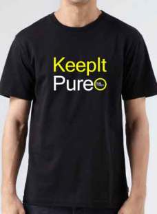 Solarstone T-Shirt Keep It Pure Crew Neck Short Sleeve Men Women Tee DJ Merchandise Ardamus.com