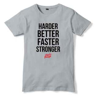 Daft Punk Harder Better Faster Stronger T-Shirt Men Women Tee by Ardamus.com Merchandise
