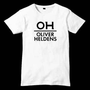 Oliver Heldens Text T-Shirt Men Women Tee by Ardamus.com Merchandise