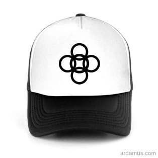Alesso Logo Trucker Hat Baseball Cap DJ by Ardamus.com Merchandise