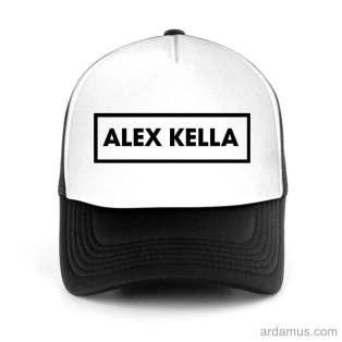 Alex Kella Trucker Hat Baseball Cap DJ by Ardamus.com Merchandise