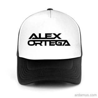 Alex Ortega Trucker Hat Baseball Cap DJ by Ardamus.com Merchandise