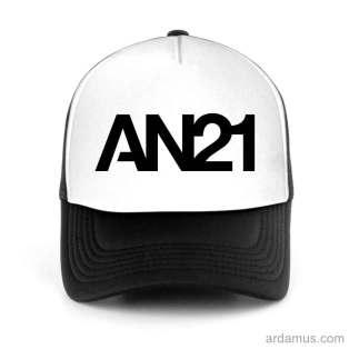 An21 Trucker Hat Baseball Cap DJ by Ardamus.com Merchandise