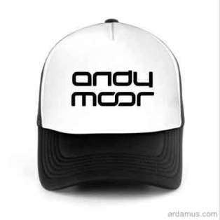 Andy Moor Trucker Hat Baseball Cap DJ by Ardamus.com Merchandise