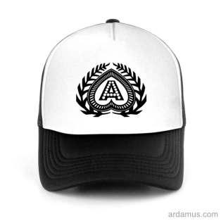 Axwell Logo Trucker Hat Baseball Cap DJ by Ardamus.com Merchandise