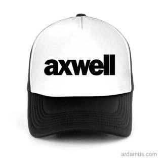 Axwell Trucker Hat Baseball Cap DJ by Ardamus.com Merchandise
