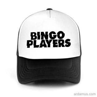 Bingo Players Trucker Hat Baseball Cap DJ by Ardamus.com Merchandise