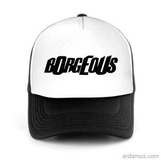 Borgeous Trucker Hat Baseball Cap DJ by Ardamus.com Merchandise