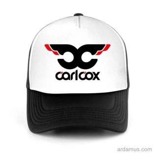 Carlcox Trucker Hat Baseball Cap DJ by Ardamus.com Merchandise