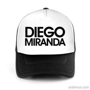 Diego Miranda Trucker Hat Baseball Cap DJ by Ardamus.com Merchandise