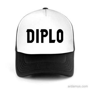 Diplo Logo Trucker Hat Baseball Cap DJ by Ardamus.com Merchandise