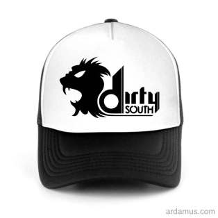 Dirty South Trucker Hat Baseball Cap DJ by Ardamus.com Merchandise