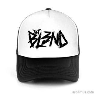 DJ Bl3nd Trucker Hat Baseball Cap DJ by Ardamus.com Merchandise