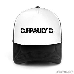 DJ Pauly D Trucker Hat Baseball Cap DJ by Ardamus.com Merchandise