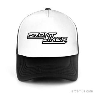 Frontliner Trucker Hat Baseball Cap DJ by Ardamus.com Merchandise