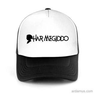 Har Megiddo Trucker Hat Baseball Cap DJ by Ardamus.com Merchandise