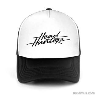 Headhunterz Trucker Hat Baseball Cap DJ by Ardamus.com Merchandise