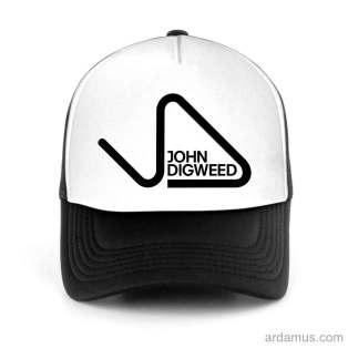 John Digweed Trucker Hat Baseball Cap DJ by Ardamus.com Merchandise
